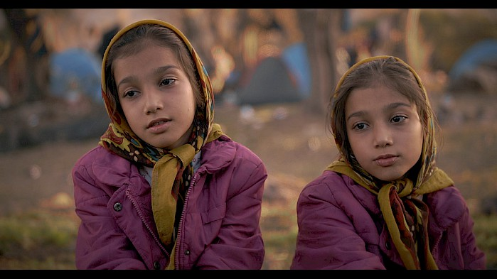Twins Saghar and Sahar fled Afghanistan with their family after their uncle was killed by the Taliban.